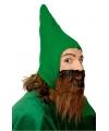 Groene dwerg muts voor volwassenen